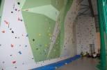 Provoz stěny na Sportovní hale
