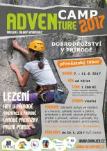 ADVENTURE CAMP 2017 - letní tábor
