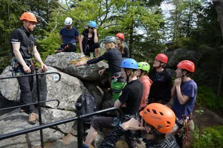 První letošní kurz na skalách