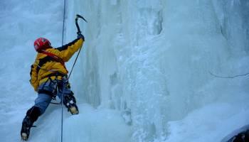 Ledy - Vysoký vodopád