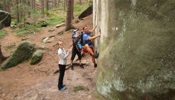 Horolezecký festival - lezení