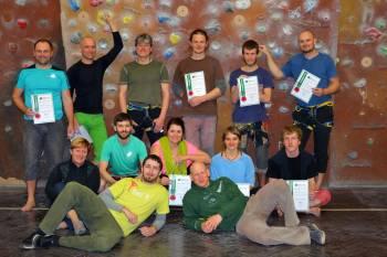 Základní kurz lezení na umělé stěně