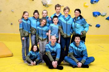 Sportovní lezení - mládež